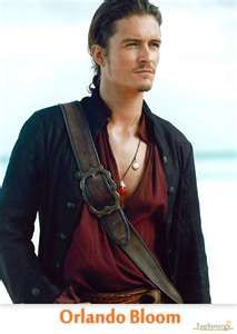 another hot actor. Orlando Bloom. yummy, yummy