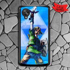 The Legend Of Zelda Nexus 5 Black Case