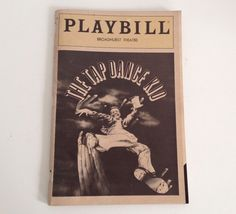 Playbill The Tap Dance Kid Alfonso Ribeiro 1983 Broadhurst Theatre Theater NYC