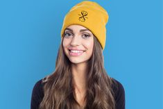 Custom embroidered knit caps look great with a corporate logo! Keep your crew warm during the winter, or give them away as corporate gifts this holiday season. Knit Caps, Free Artwork, Custom Embroidery, Corporate Gifts, Looks Great, Beanie, Warm, Seasons, Free Shipping