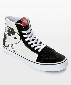 c1c6d4f831b7 Vans X Peanuts SK8-Hi Joe Cool Skate Shoes Skate Shoes