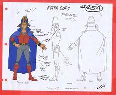 Star Wars Droids Original Cartoon Production Generic Pirate 2 Model CEL BV534 | eBay