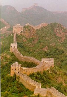 Great wall of China #china #wall #travel