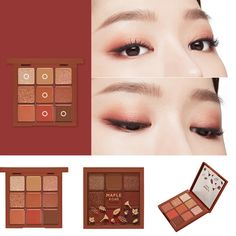 Get Rid Of Skin Care Problems Now - Fashion Beauty Body Korean Makeup Look, Korean Makeup Tips, Asian Eye Makeup, Korean Makeup Tutorials, Eye Makeup Steps, Eye Palette, Makeup Palette, Eyeshadow Palette, Makeup Inspo