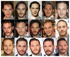 The Evolution of: Tom Hardy