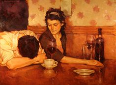 Joseph Lorusso (b1966) - End of the night..