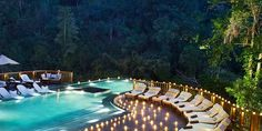 Stay in Bali's most romantic resort - located near mystical Ubud, Bali - Hanging Gardens of Bali. Book direct to discover the most luxurious hotel in Bali! Ubud Resort, Bali Luxury Villas, Ubud Villas, Ubud Hotels, Cool Swimming Pools, Best Swimming, Hanging Gardens Bali, Bali Accommodation, Romantic Resorts