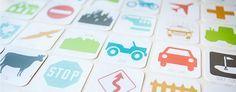 What a brilliant idea!! Printable travel game
