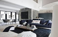 32 New Black And White Living Room Design Ideas, A room ought to be welcoming and comfortable. Accessorize the Couch You might also make your room more inviting by softening the appearance of the sof.