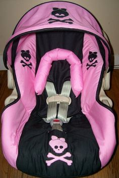 Car Seat Cover For Your Rocker Baby Girl