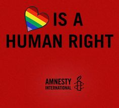 Love is a human right!
