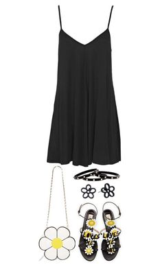 """""""Daisies"""" by terry-tlc ❤ liked on Polyvore featuring Nila Anthony, Valentino, Boohoo, Marc by Marc Jacobs and Nest"""