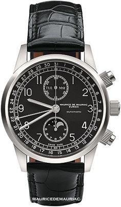 Maurice de Mauriac Watches.  http://mauricedemauriac.ch/