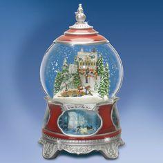 "Thomas Kinkade ""Wish You a Merry Christmas Snow Globe"""