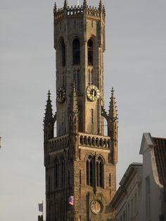 Belfort tower in Brugge