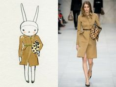 Fifi Lapin- not all fashion figures need to be so over-elongated!