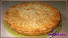 Яблочный пирог в сметанной заливке Мука-2 стакана Сметана-1/2 стакана Разрыхлитель -1,5 ч.ложки Для заливки: Сметана-1 стакан Сахарный песок-1 стакан Мука-2 ст.ложки Ванильный сахар-2 ч.ложки Яйцо-1 шт Для начинки: Яблоки-3 шт