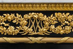 A detail of one of Marie Antoinette's cabinets