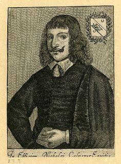 Nicholas Culpeper - Wikipedia History Of Psychology, Abraham Lincoln, Westerns, Herbalism, Fictional Characters, Herbal Medicine, Fantasy Characters