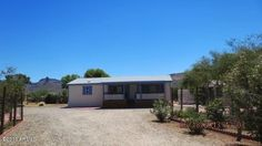 Amazing Mountain Views! Cute 2 Bedroom, 2 Bath home on level half acre in Black Canyon City. Must see to appreciate spectacular mountain views, peace and quiet!! See more pics at www.DesertRealtyGroup.com #realestate #blackcanyoncity
