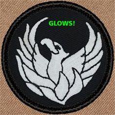 Phoenix (GLOW)Patrol Patch (#806)