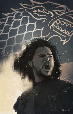 Jon Snow - Game of Thrones - Matt Soffe