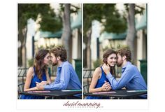 Lauren & Chase's Engagement | David Manning Photography | Little Italy, San Diego