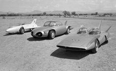 GM Firebirds, I, II, and III