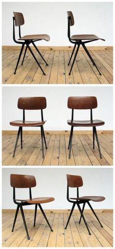 2 Industrial Friso Kramer chairs model Result ($200-500) - Svpply