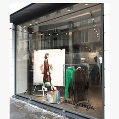 "COLETTE, Paris, France, ""It's an honor to see you"", for Balenciaga, pinned by Ton van dr Veer"