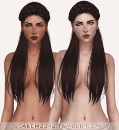 Sims 4 CC's - The Best: Amelia Skin Overlay by Salem