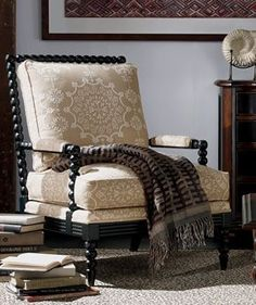 Ethan Allen Jules Chair   Really Like The Bottom Lines Of This Chair    Chairs And Couches   Pinterest
