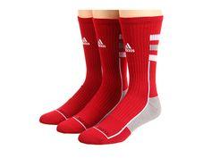adidas NCAA® Team Speed Crew 3-Pack