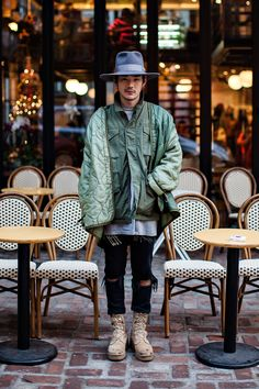 Hat | Kijima Takayuki Jacket | Topman Pants | Topman Shoes | Vibram On the street… Jung Yongjin Seoul