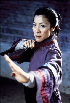 Michelle Yeoh in Crouching Tiger, Hidden Dragon, Wing Chun (personal fav!), Supercop, and a Bond girl in Tomorrow Never Dies