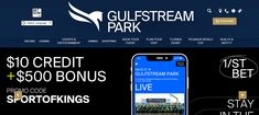 Gulfstream Park, a sumptuous open-air sporting, dining, entertainment and retail place supervised by the fabled Gulfstream racetrack How To Use Facebook, Career Success, The Headlines, Live Events, Live Action, Live Music, The Expanse, Night Club, Potato Salad