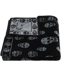 Skull Towel Alexander McQueen | Towels | Accessories |