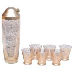 Gold Shimmer Shaker Set – The Hour