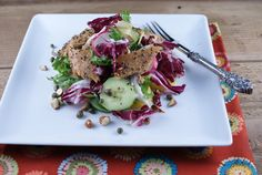 Smoked Trout Salad with Key Lime Mustard Dressing