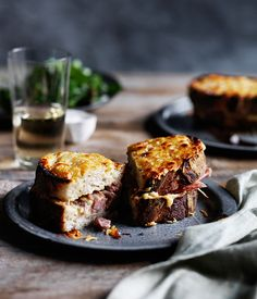 Recipe for pork hock croque-monsieur by Muse restaurant in Pokolbin, NSW. Breakfast And Brunch, Best Breakfast Recipes, Sandwiches For Lunch, Wrap Sandwiches, Sandwich Recipes, Pork Recipes, Gourmet Recipes, Snack Recipes, Snacks