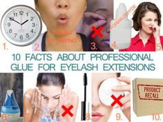 10 Facts About Professional Glue For Eyelash Extensions