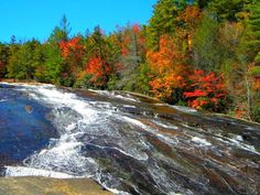 Fall Beauty at Bridal Veil Falls, Dupont State Forest, Penrose, NC
