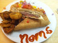 Cuban sandwich at Kuba Kuba - Richmond, VA