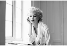 Michelle Williams on the set of My Week With Marilyn by Brigitte Lacombe