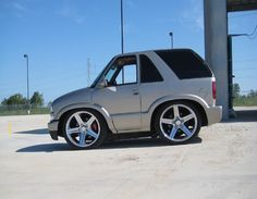 Exotic Smart Car Body Kits | fyi: this is wickedmayhems blazer. not trying to claim it as my own.