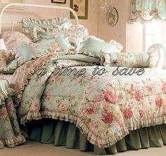 Gorgeous Shabby Décor. Love shabby chic style. Romantic Master Bedroom, Master Room, Beautiful Bedrooms, Dream Bedroom, Shabby Chic Curtains, Shabby Chic Bedrooms, Guest Bedrooms, French Country Bedding, French Country Bedrooms