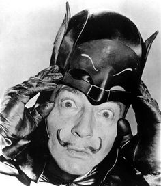 """I'm Batman"", Happy Birthday Salvador Dali"