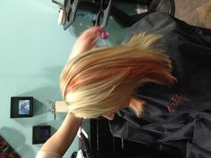 Pink highlights by Allie