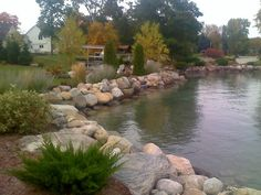 How to install rip rap correctly lakescaping pinterest award winning custom seawall by wl solutioingenieria Choice Image