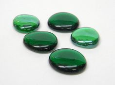 Forrest Green Emerald Green Glass Gem Glass